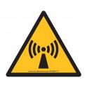 Panneaux et autocollants NF EN 7010 - Radiations non-ionisantes - W005
