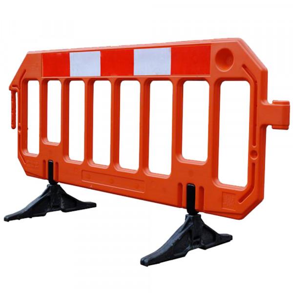 Barrière de sécurité orange - 2 mètres