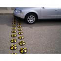 Plot ralentisseur 30 km/h jaune et noir
