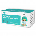 Kit 50 masques chirurgicaux + 5 flacons de gel hydroalcoolique 100 ml