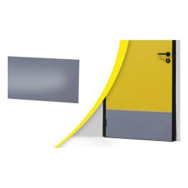Protection bas de porte adhésive - Gris - 830 x 350 mm