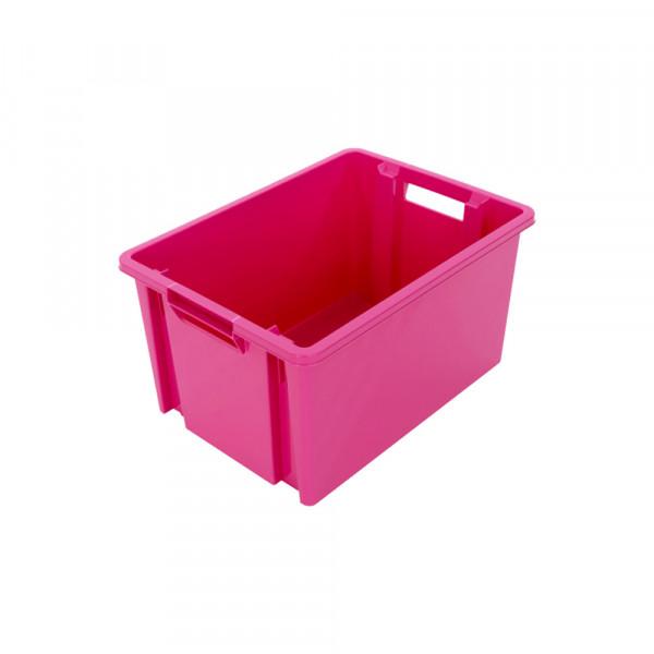 Bacs emboîtables rose 6 / 10 / 18 / 30 / 54 litres