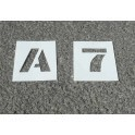 Pochoir Lettres & Chiffres PVC