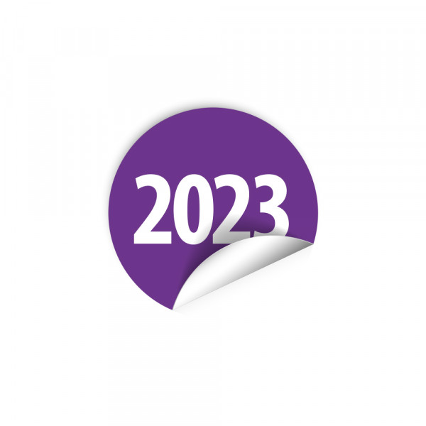 Pastilles avec année - 2023