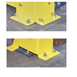lot de 10 chevilles de fixation pour les protections de racks H2380032 et H2380033