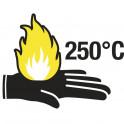 Gants Kevlar anti chaleur 250° - poignet 10 cm - taille 9