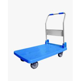 Chariot industriel plateforme pliable 150 kg maxi