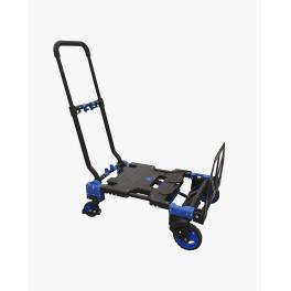 Combiné diable-chariot repliable