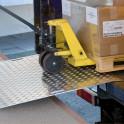 Pont de chargement sécurité amovible 750 x 1250 mm maxi 600 kg