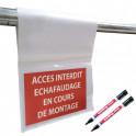 Kit pochette de vérification échafaudage neutre