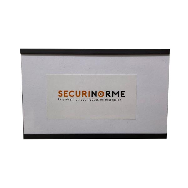 Porte-note coulissant magnétique - 30x80mm ou 50x80mm