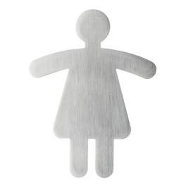 Pictogramme symbole WC Femme
