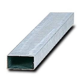 Poteau rectangulaire en acier galvanisé