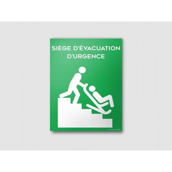 Panneau SIEGE EVACUATION