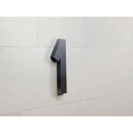 Chiffres en relief adhésif pour plaque de porte 1