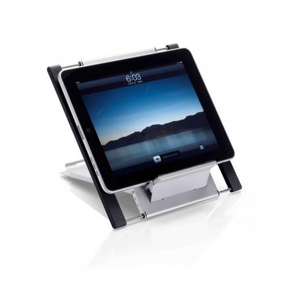 ergonomie de travail support pour tablette et ordinateur. Black Bedroom Furniture Sets. Home Design Ideas