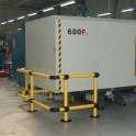 Tube pour barrière modulable pour détection d'obstacle