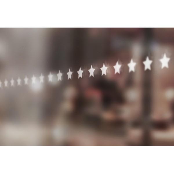 Bandes de signalisation MOTIF étoile - Surfaces vitrées