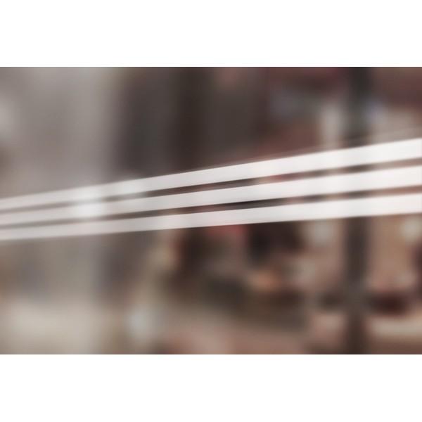 Bandes de signalisation MOTIF 3 bandes - Surfaces vitrées