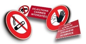 Signalisation d'Interdiction