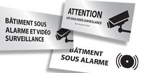 Signalisation Vidéosurveillance, Alarme et Sécurité