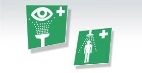 Signalisation Lave-yeux et douches de sécurité