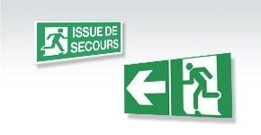 Signalisation Sortie et Issue de Secours