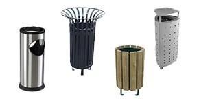 Cendriers, cendriers poubelle et abris fumeurs