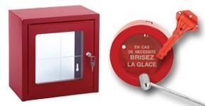 Boîtes à clés de secours et accessoires