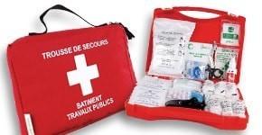 Trousses de secours et kit secourisme