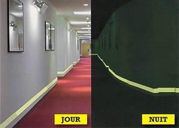 ruban photoluminescent