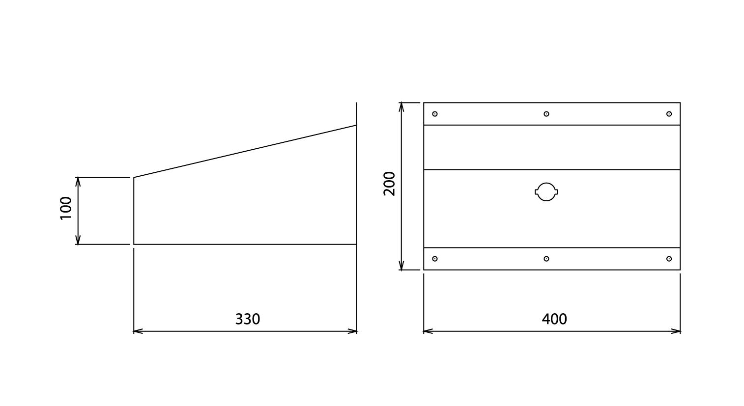 Plan de l'écritoire pour chaufferie