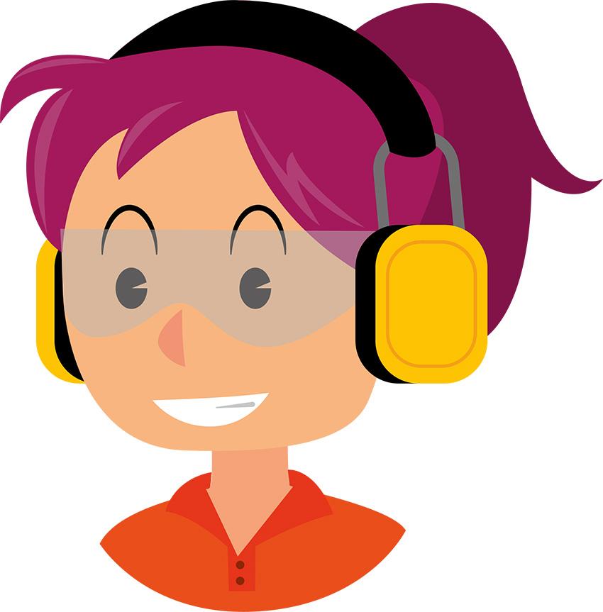 illustration casque anti-bruit