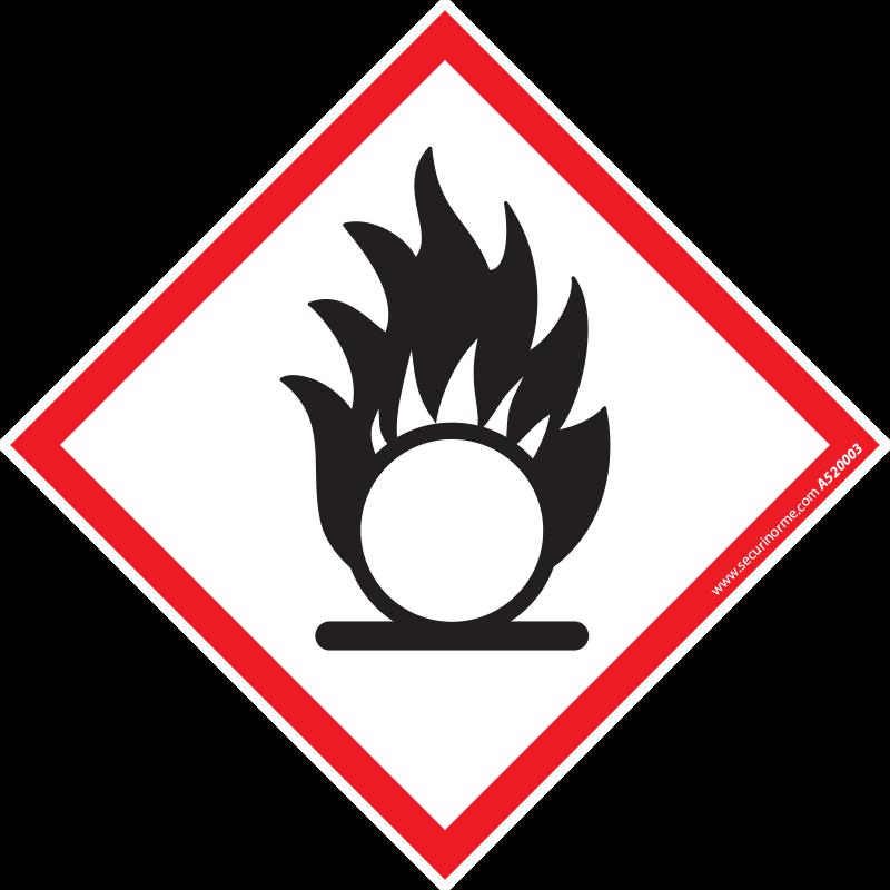 Pictogramme CLP SGH03 Matières comburantes