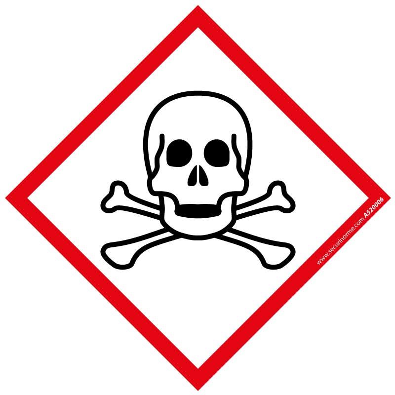 Pictogramme CLP SGH06 Matières toxiques