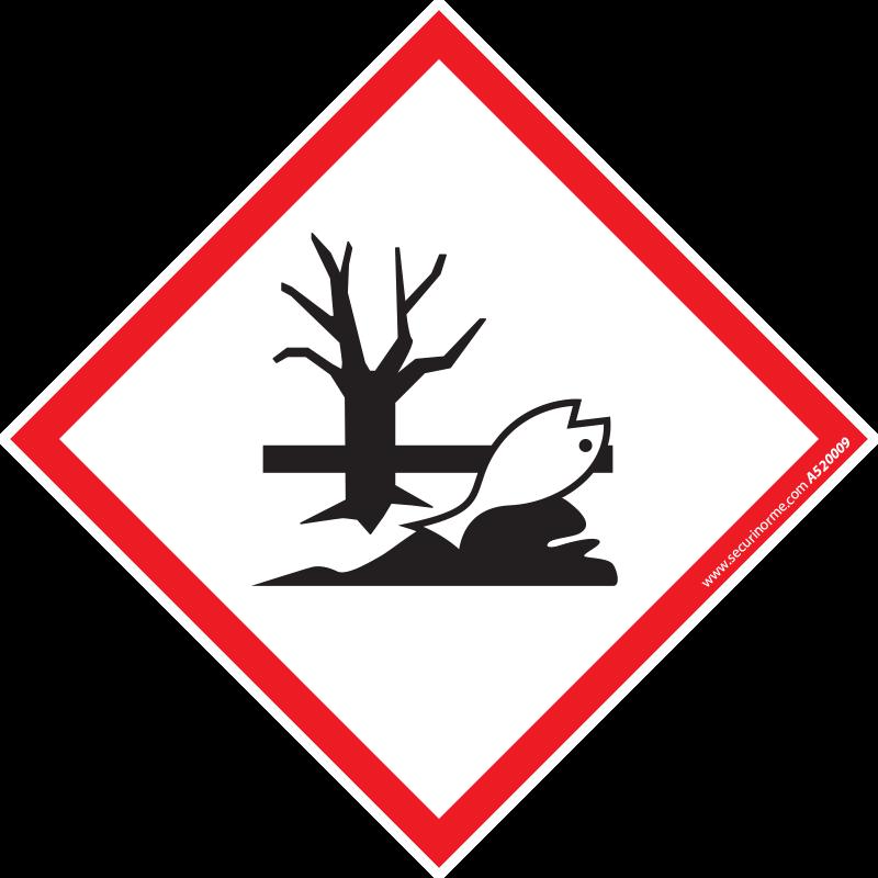 Pictogramme CLP SGH09 Danger pour le milieu aquatique
