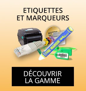 Produits etiquettes et marqueurs
