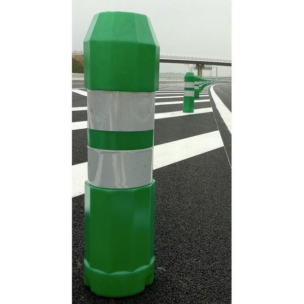 balise de signalisation routière verte J12