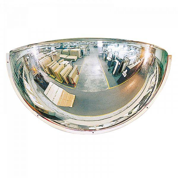 miroir hémisphérique