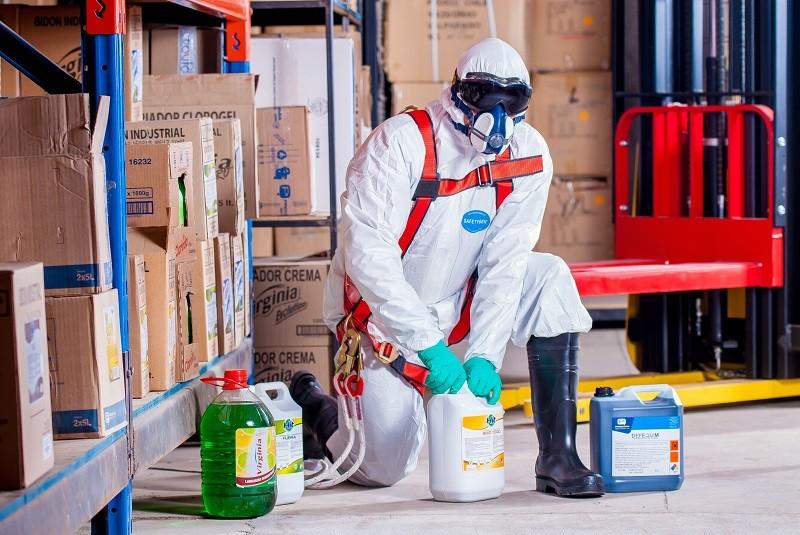 Protections contre les produits chimiques